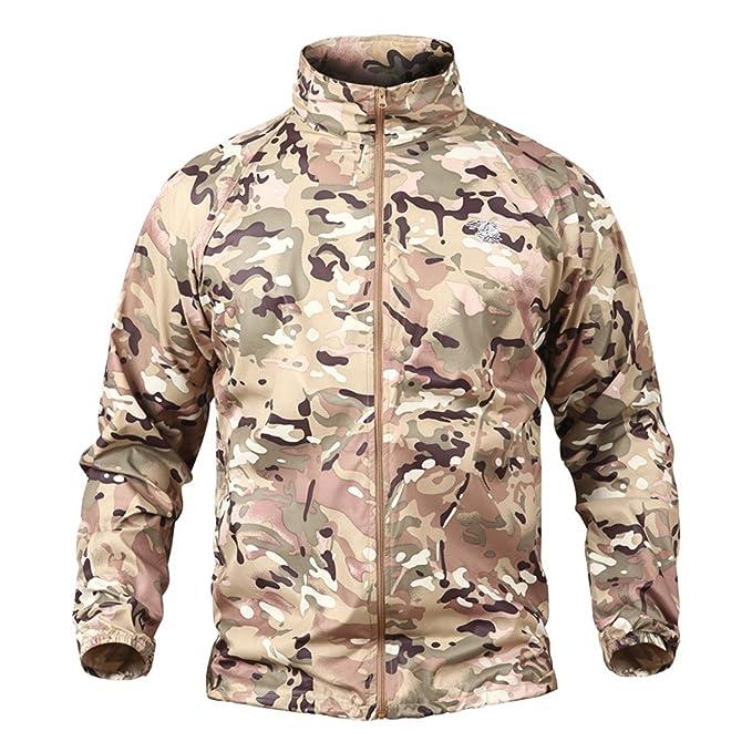 928814592 Sonjer Summer Tactical Navy Seal Lightweight Camouflage Jacket Men  Waterproof Thin Hood Raincoat Windbreaker Military Army