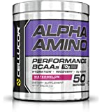 Cellucor Alpha Amino Performance BCAA Powder, BCAAs & Essential Amino Acids for Recovery, Watermelon, 50 Servings