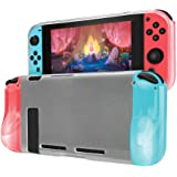 Case for Nintendo Switch by TalkWorks | Clear Flexible Protective Cover Shell | Anti-Scratch & Shock Absorption | Easy…
