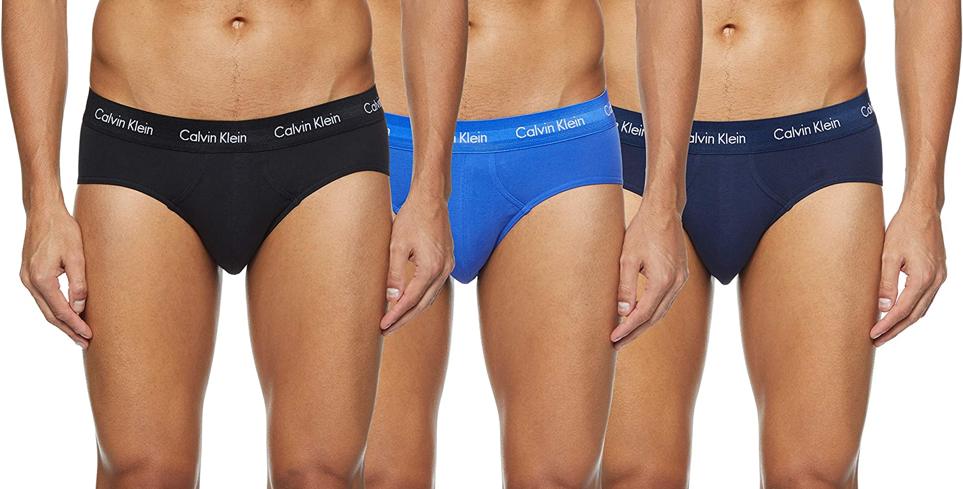Calvin Klein Cotton Stretch-3er Pantalones térmicos, Azul (Black/Blue Shadow/Cobalt Water DTM WB 4ku), X-Small (Pack de 3) para Hombre: Amazon.es: Ropa y accesorios