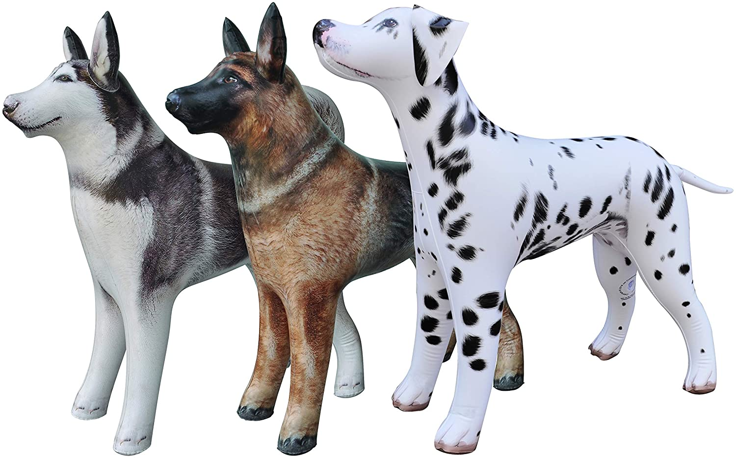 Inflatable German Shepherd Dog K9 Pet Animal Party Decoration Gift Pool Toy