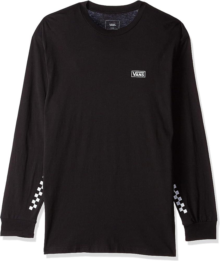 Vans OTW Distort - Camiseta de manga larga, color negro - Negro - Medium: Amazon.es: Ropa y accesorios