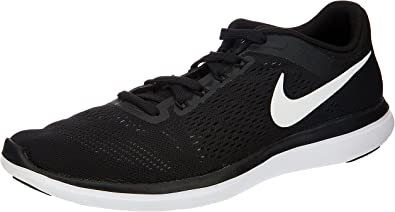 Nike Flex 2016 RN, Zapatillas para Hombre, Negro (Black/White Cool Grey), 46 EU: Amazon.es: Zapatos y complementos