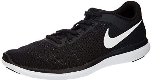 48cdc815c092 Image Unavailable. Image not available for. Colour  Nike Men s Flex 2016 Rn  Black White Cool Grey Running Shoe ...
