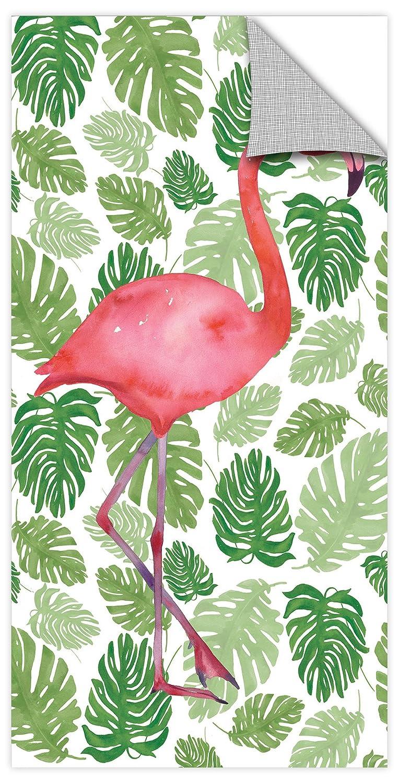 Wild Apple Tropical Flamingo I Removable Wall Art Mural 12X24