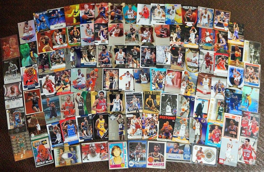 Basketball Star Cards 400 Count Box Jerseys/auto/Inserts/Rookies Jordan/Kobe/Lebron/Durant Etc.