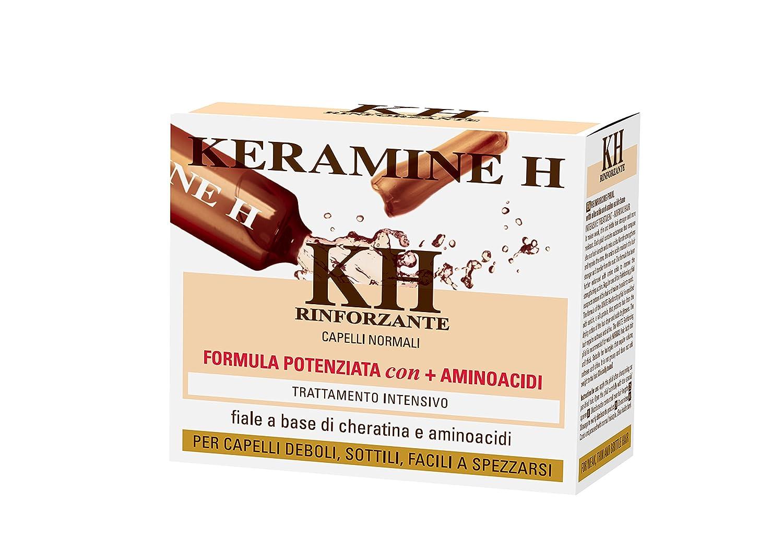 Keramine H - Fiala Rinforzante per capelli Bianca - 10 monodose SOCO 0301301