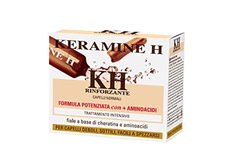Keramine H - Fiala Rinforzante per capelli Bianca - 10 monodose ... 37582fc8f154