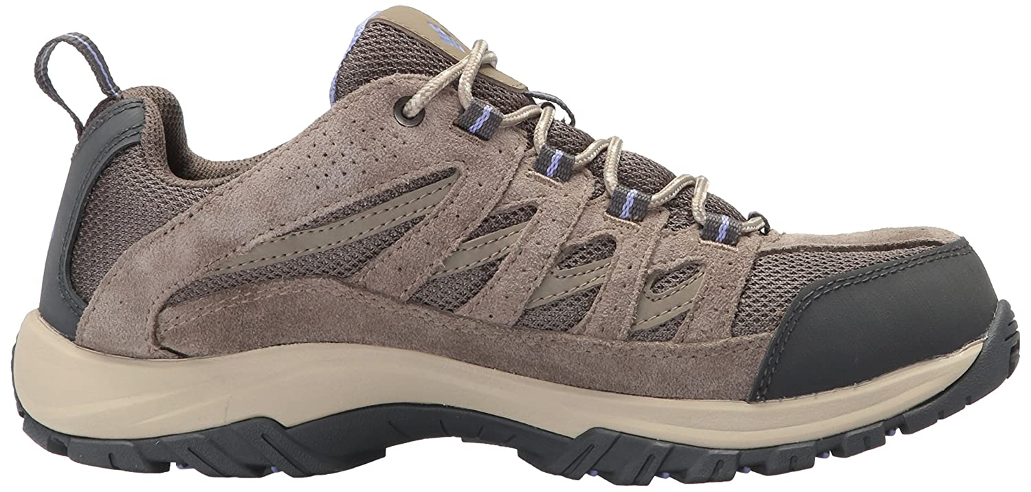 Columbia Women's Crestwood Hiking Shoe B01NASRLJL 12 B(M) US|Mud, Fairytale