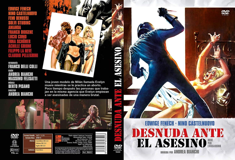 Desnuda Ante El Asesino Dvd 1975 Nude Per Lassassino Assassino Per