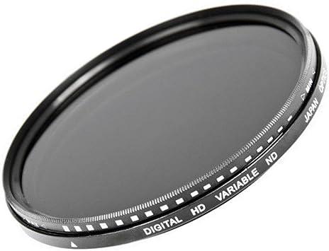 55mm Slim Fader Polarizing Neutral Density Adjustable ND Filter ND2 4 8 ND400