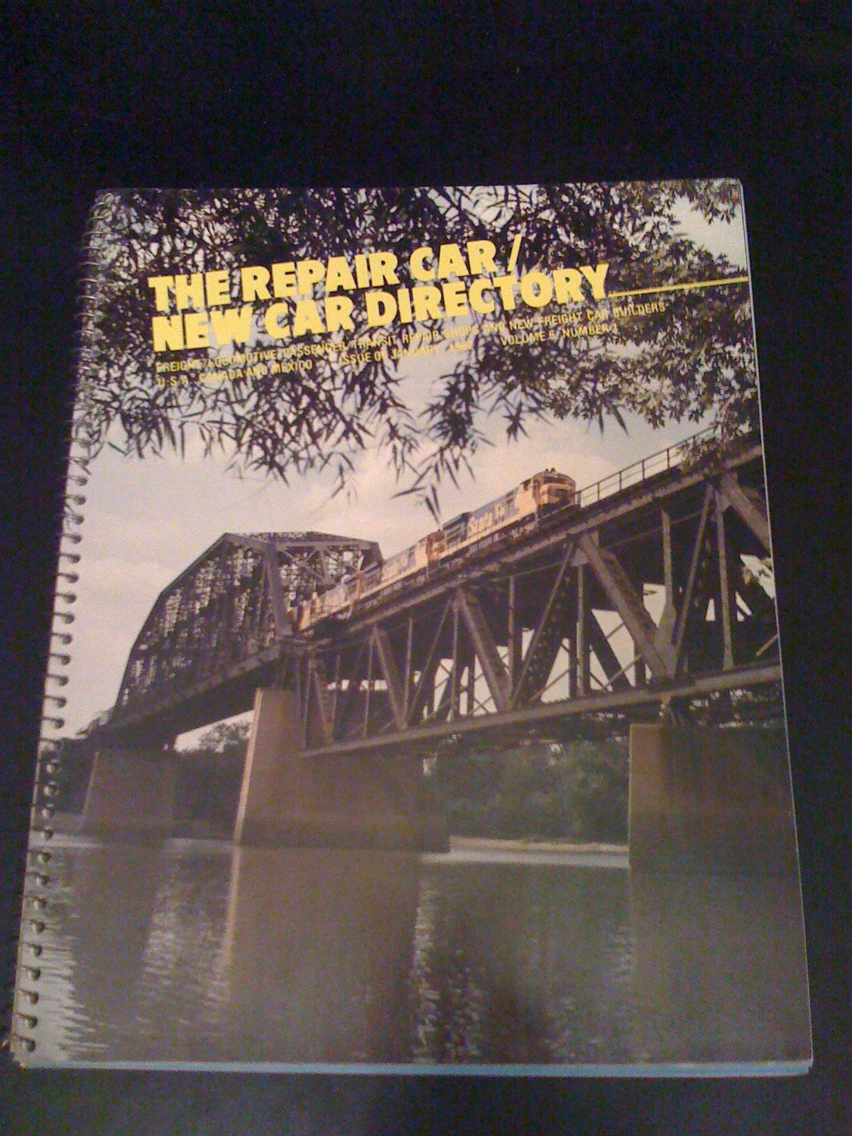 The Repair Car New Car Directory for Freight Locomotive