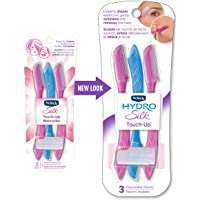 Schick Hydro Silk Touch-Up Multipurpose Exfoliating Dermaplaning Tool, Eyebrow Razor, and Facial Razor with Precision…
