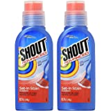.Shout Advanced Ultra Concentrated Stain Removing Gel, 8.7 Oz Pack of 2, Red