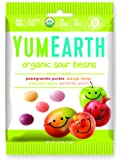 YumEarth Natural Sour Jelly Beans, 2.5 Ounce (Pack of 12) (Packaging May Vary)