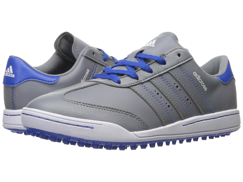 Kid/Big Grey/Grey/Blue [並行輸入品] - メンズ Kid Golf Adicross Kid) M V スニーカー Big (Little B06XMXS297 [アディダス ゴルフ] Jr. 4.5 adidas