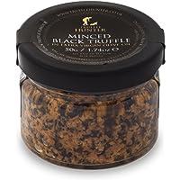 Minced Black Truffle (1.74 Oz) by TruffleHunter - Preserved in Extra Virgin Olive Oil - Vegan, Kosher, Vegetarian and Gluten Free - No MSG, Non-GMO