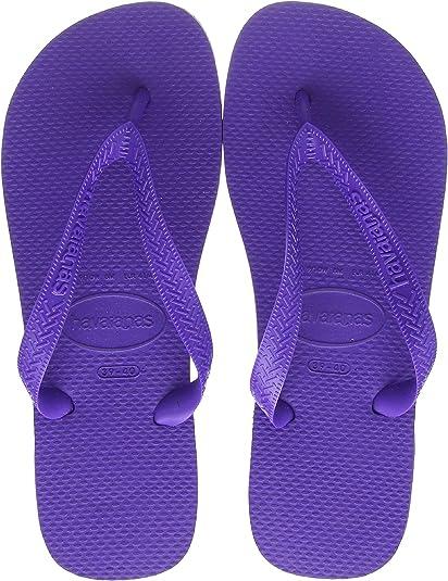 Havaianas Top, Chanclas Unisex Adulto, Morado (Purple 0719), 35/36 EU
