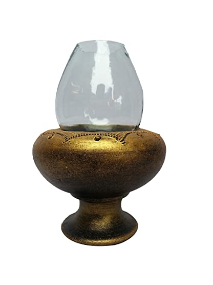 Buy OIL LAMP WITH CHIMNEY Online at Low Prices in India - Amazon.in