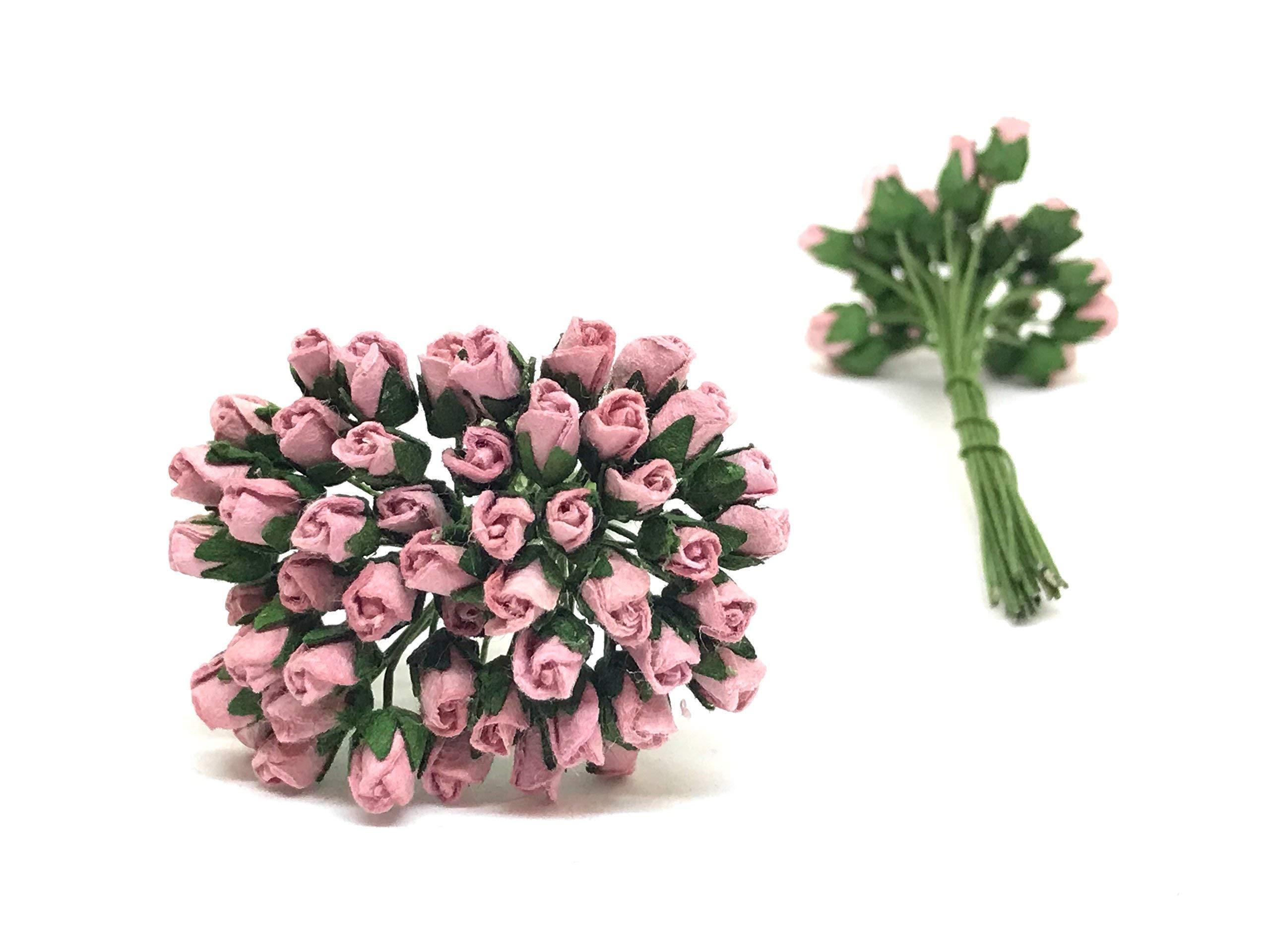 12cm-Mauve-Paper-Roses-Mulberry-Paper-Flowers-Miniature-Flowers-Mulberry-Paper-Rose-Buds-Paper-Rose-Flower-Wedding-Favor-Decor-Miniature-Rose-DIY-Bouquet-Scrapbooking-Flowers-50-Pieces