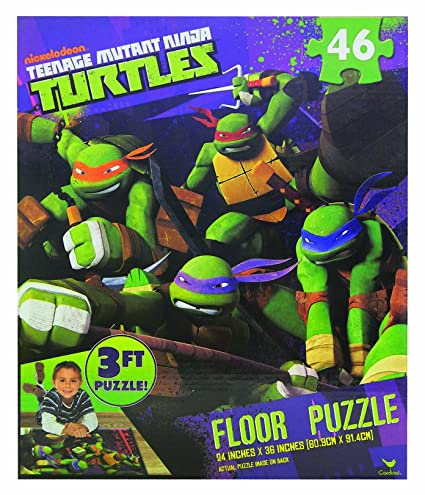 Amazon.com: Teenage Mutant Ninja Turtles, 3 foot Floor ...