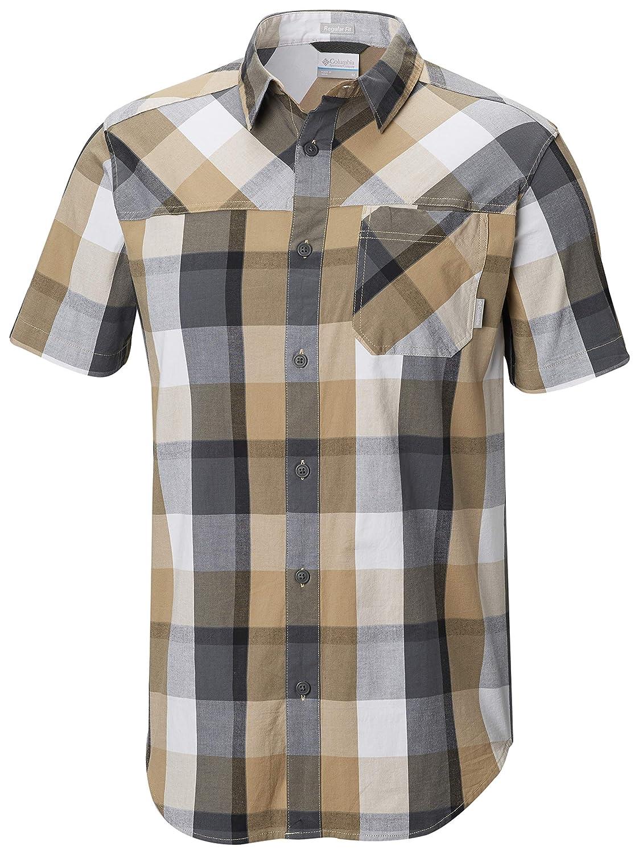plage Check XL Columbia Homme - Manches Courtes T-Shirt athlétique
