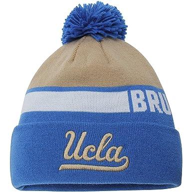 3ab3d7e6bee UCLA Bruins adidas Sideline Cuffed Pom Knit Hat - Blue Gold (Blue   Gold