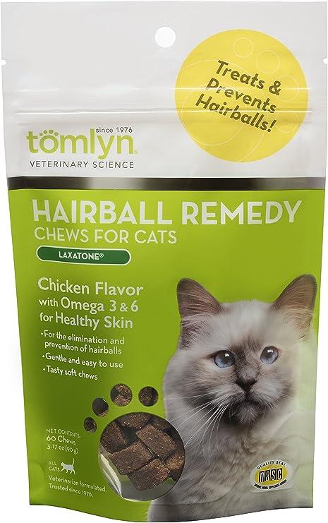 Tomlyn Laxatone - Remedio de Bolas de Pelo para Gatos y Gatitos, 60 Unidades: Amazon.es: Productos para mascotas