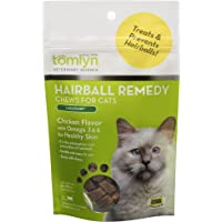 Tomlyn Laxatone Chicken-Flavor Hairball Remedy Chews for Cats and Kittens, 60ct