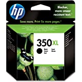 HP Cartouche d'Encre - 350XL  - Noir - Grande Capacité Authentique (Ref: CB336EE)