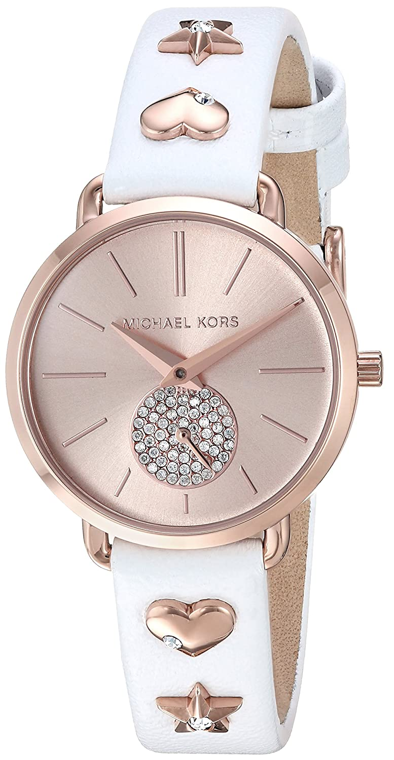 eddee0c3fca5 Amazon.com  Michael Kors Women s MK2728 - Portia Rose Gold One Size  Watches