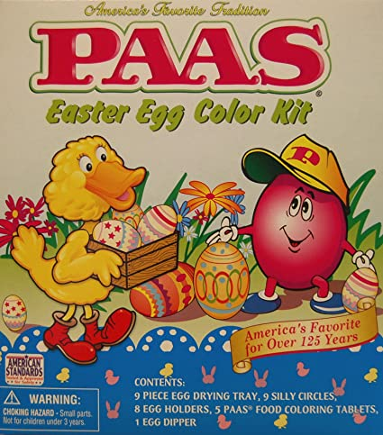 Amazon Com Paas Easter Egg Color Kit Toys Games
