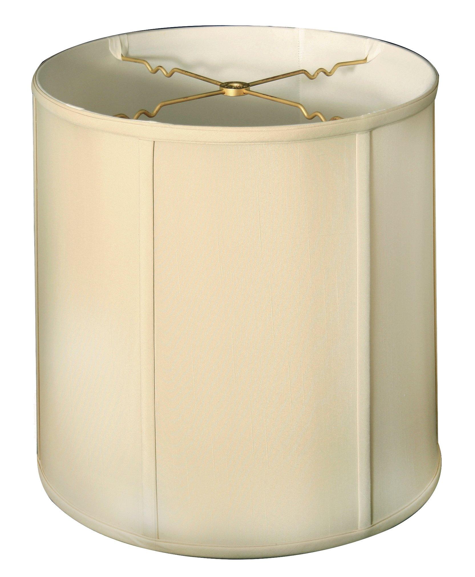 Royal Designs Basic Drum Lamp Shade, Beige, 15 x 16 (BS-719-16BG)
