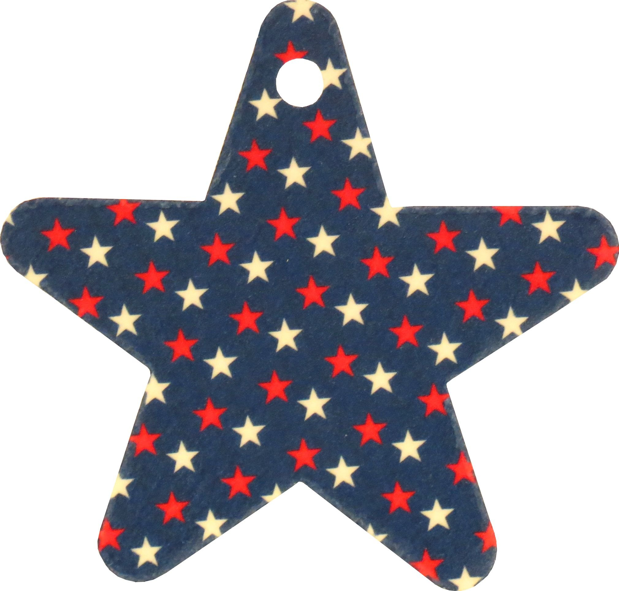 Set of Stars on Star Air Fresheners, Cedarwood Essential Oil by Eclectic Lady (Image #2)