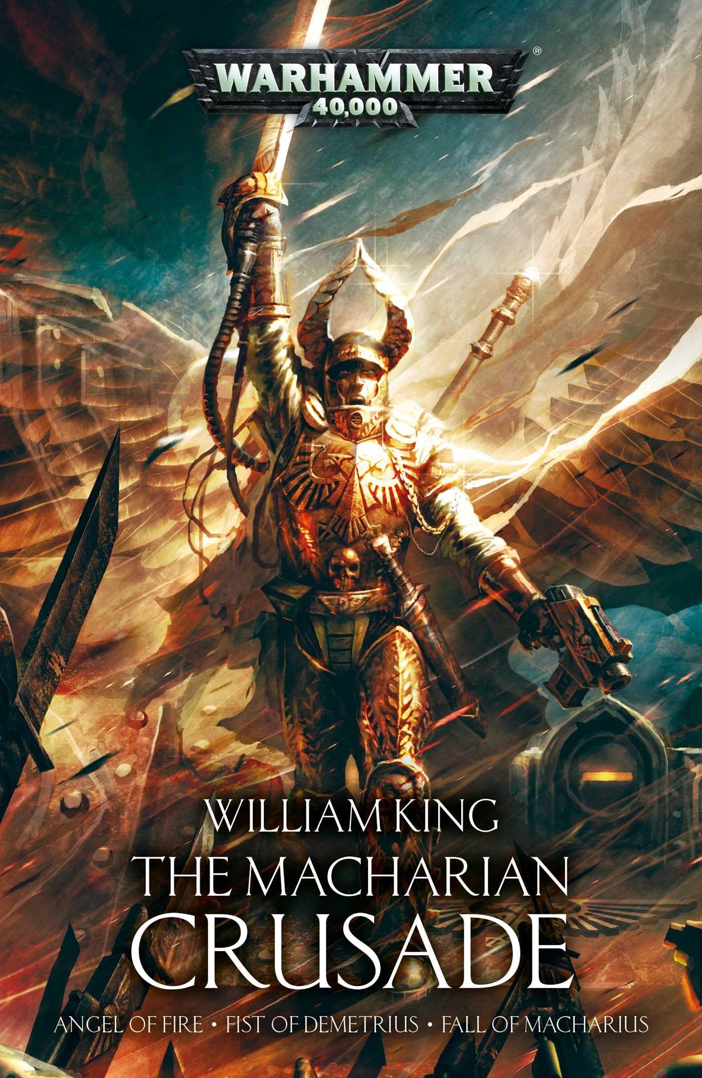 The macharian crusade omnibus william king 9781784964931 amazon the macharian crusade omnibus william king 9781784964931 amazon books fandeluxe Gallery