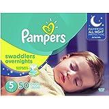 Pampers Overnight Pañales Etapa 5, 50 Piezas
