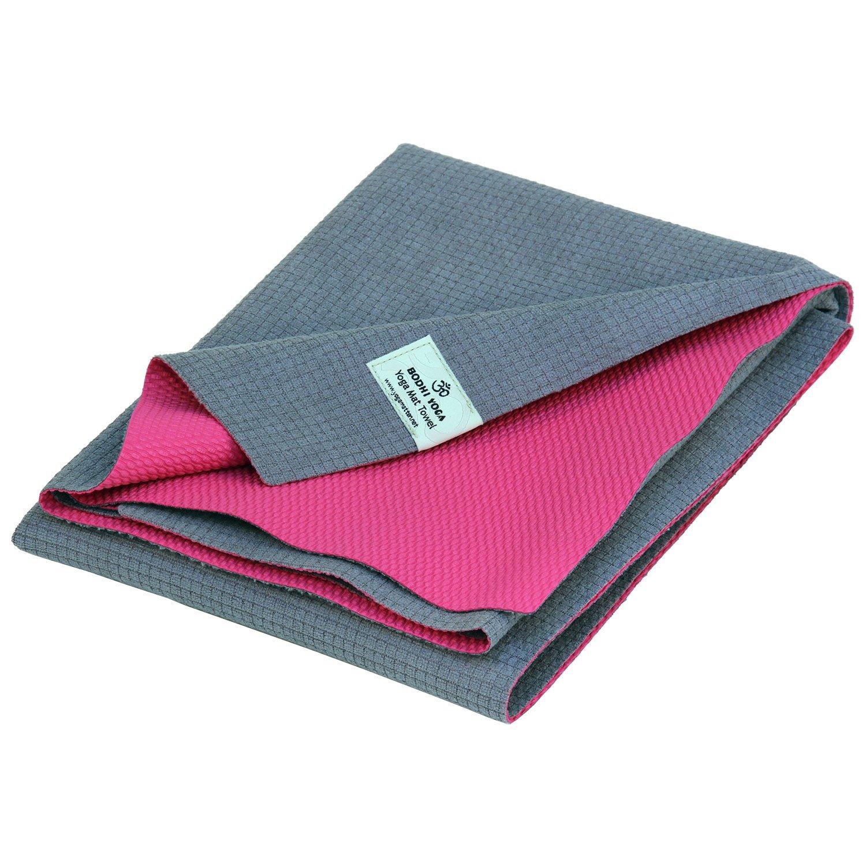 Yatra Yoga Mat Toalla gris/rosa: Amazon.es: Salud y cuidado ...