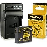 Chargeur + Batterie DMW-BLG10 DMW-BLG10E pour Panasonic Lumix DMC-GF6 | Lumix DMC-GX7 et bien plus encore… [ Li-ion; 750mAh; 7.2V ]
