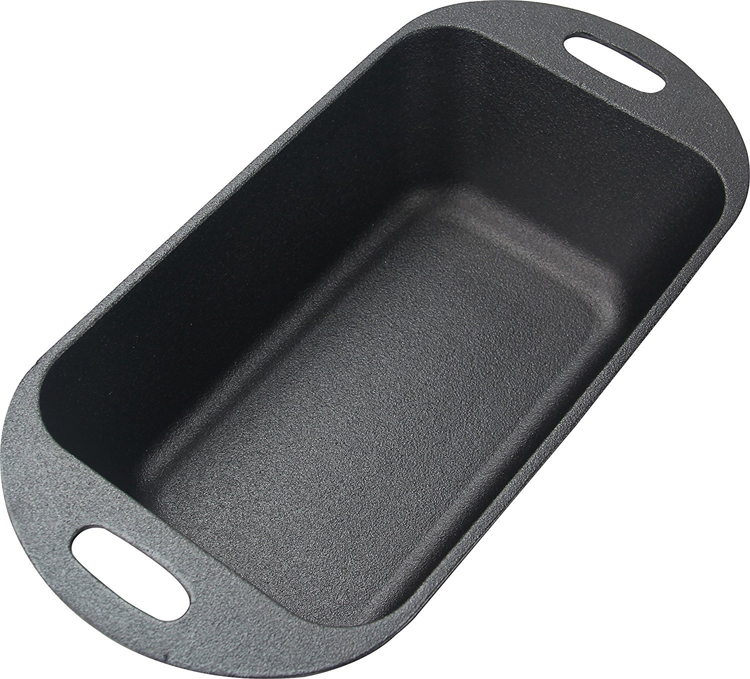 Utopia Kitchen Pre-Seasoned Cast Iron Loaf Pan for Baking - 12 Inch by 6 Inch by 3 Inch UK0223