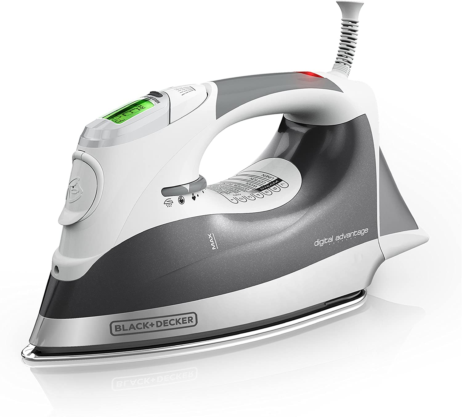 Best affordable iron: Black & Decker Advantage Professional D2030 Steam Iron