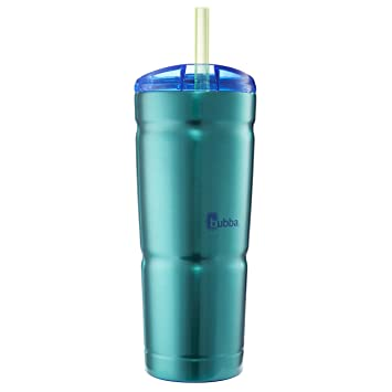 934e2479b8f Bubba Brands 1965874 Envy Insulated Double Wall Stainless Steel Tumbler, 24  oz, Island Teal