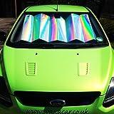 Sumex Car Front Window Windscreen Reflective UV Laser Sun Shade Block Screen (XL - 145 x 80cm)