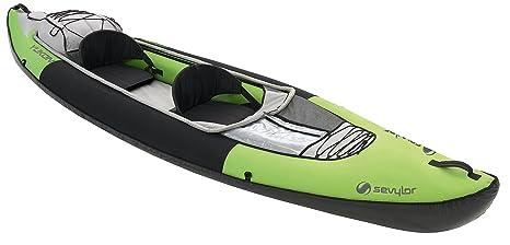 Sevylor Kayak Inflable, Kajak Yukon(TM) KCC380, 390x89 cm, Verde, Talla Única