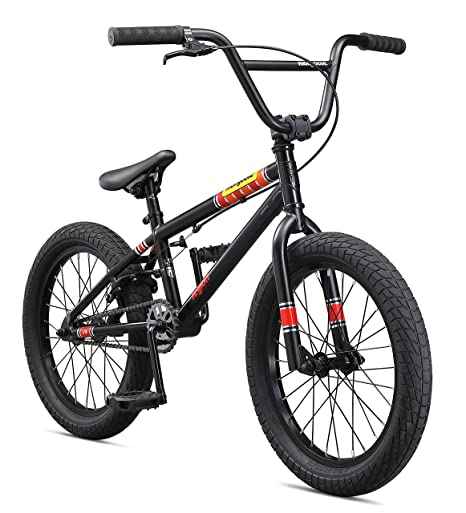 Amazon Com Mongoose Legion L18 Boys Freestyle Bmx Bike 18 Inch
