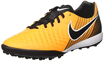 458a39b987c Amazon.com  NIKE Men s MagistaX Finale II TF Turf Soccer Cleats (Red ...
