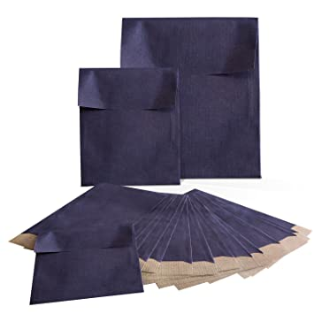 Set 2 x 25 unidades pequeñas bolsas de papel Bolsas bolsas ...