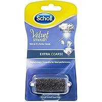 Scholl Velvet Smooth Wet & Dry Roller Heads Extra Coarse,