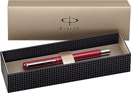 Parker Pen - Bolígrafo de tinta líquida con trazo fino, Tinta Azul ...