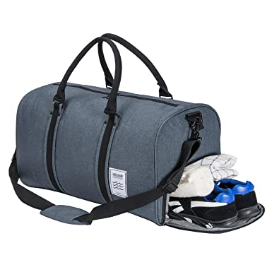 Gym Bag Duffle Weekend With Shoes Compartment Oversize Capacity Travel