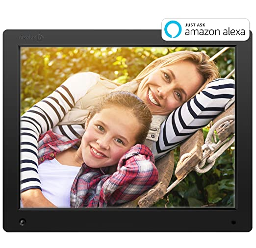 Sale alerts for  Nixplay Original 15 inch WiFi Cloud Digital Photo Frame. iPhone & Android App, Email, Facebook, Dropbox, Instagram, Picasa (W15A) - Covvet